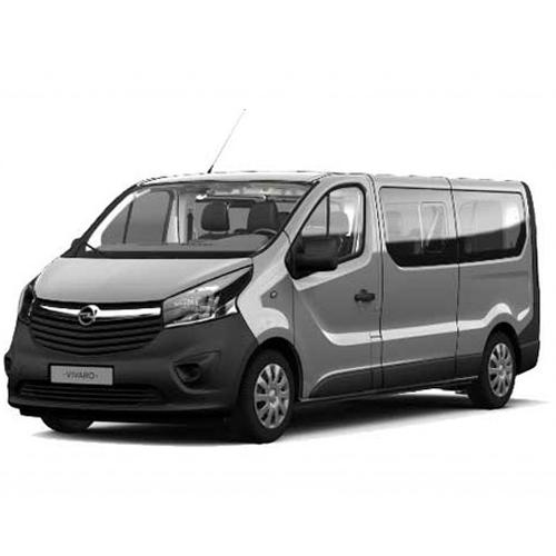 Opel vivaro con gancio 9 posti