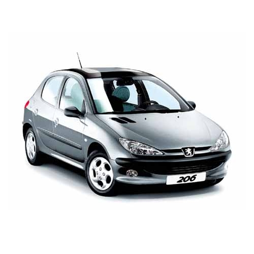 Peugeot 206 5p. Old model 2002 anche GPL